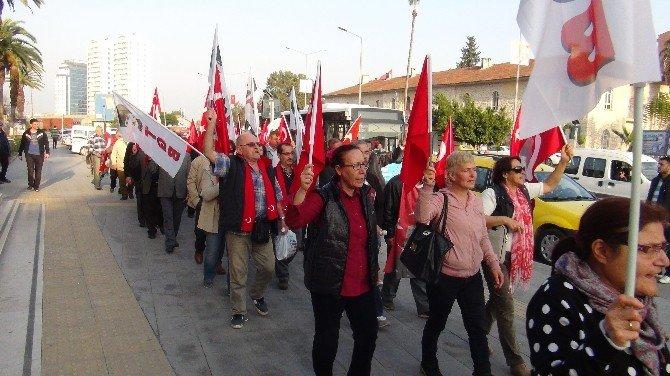Tgb'lilerden Terör Protestosu
