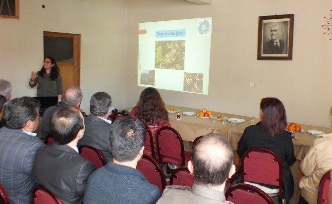 Ulukışla'da Toros Kurbağası Koruma Ve Yaşatma Semineri Düzenlendi