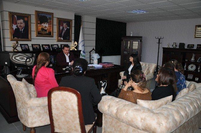 Yardım Sevenler Derneğinden Başkan Bakıcı'ya Ziyaret
