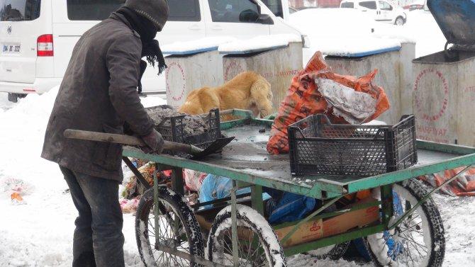 Kömür atıkları ailelerin ekmek teknesi