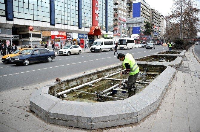 Havuzlar Bahara Hazırlanıyor