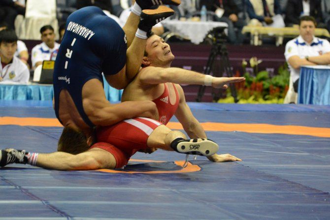 Asya Güreş Şampiyonası sona erdi