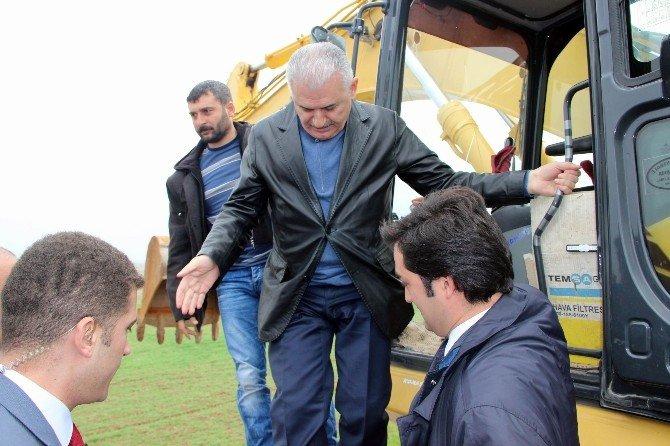 Bakan Yıldırım Diyarbakır'da