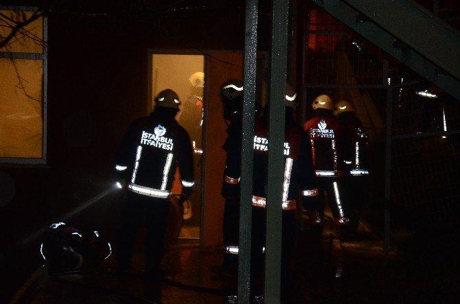 Bakırköy Ruh Ve Sinir Hastalıkları Hastanesi'nde Yangın Paniği