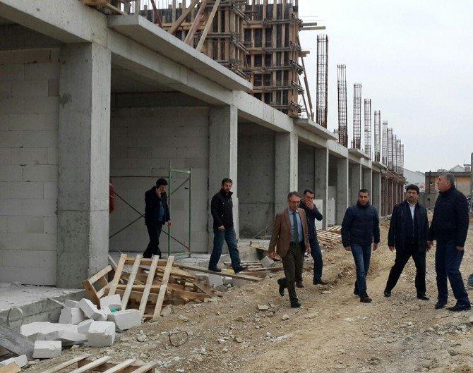 Başkan Toçoğlu Akom Projesi'nde Devam Eden Çalışmaları İnceledi