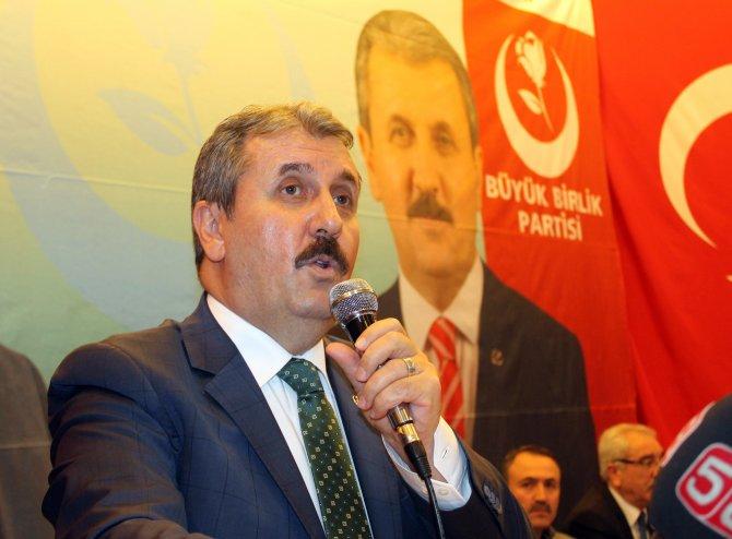 BBP Genel Başkanı Destici: Yeter artık, milleti kandırmayın