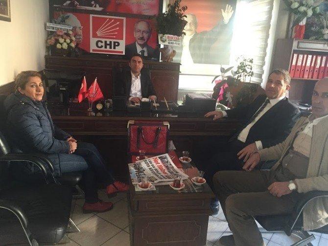 Bimyad Yöneticilerinden CHP İl Başkanlığı'na Ziyaret