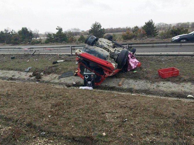Bolu'da Trafik Kazası: 1 Ölü, 3 Yaralı