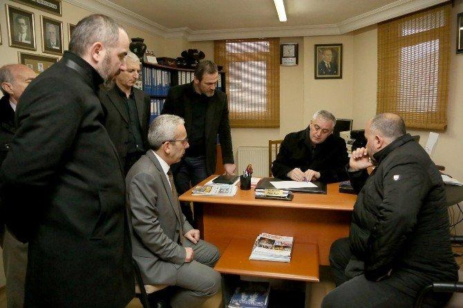 Başkan Aydın, Rami Yeni Mahalle'de İncelemelerde Bulundu