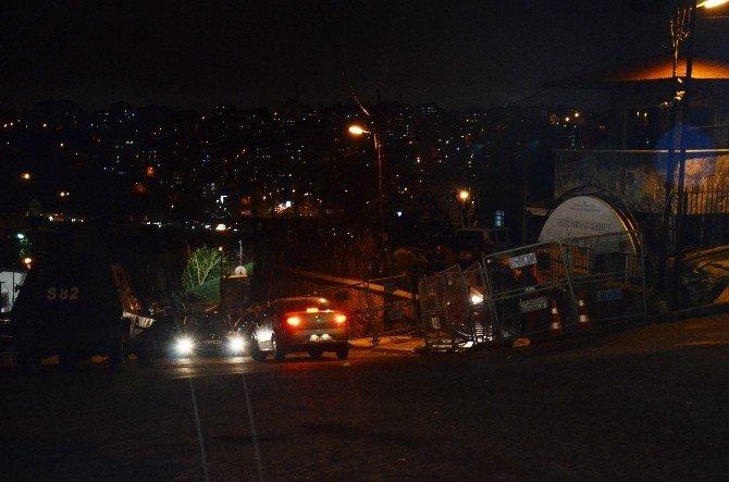 Küçük Armutlu'da Polis Merkezine Silahlı Saldırı