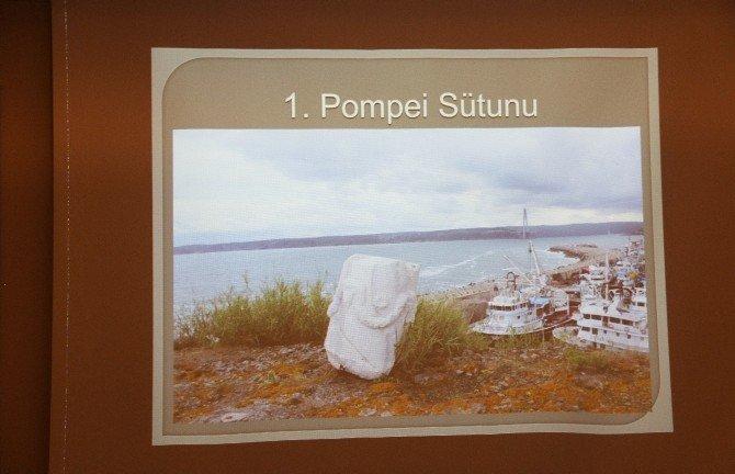 İstanbul'un Bilinmeyen Sırrı 'Pompei Sütunu' Gün Yüzüne Çıktı