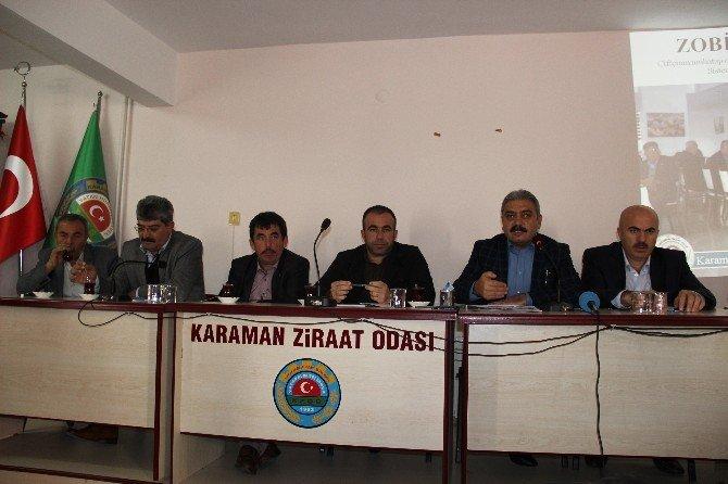 Ziraat Odası Başkanı Muğlu'dan 2015 Yılı Değerlendirmesi