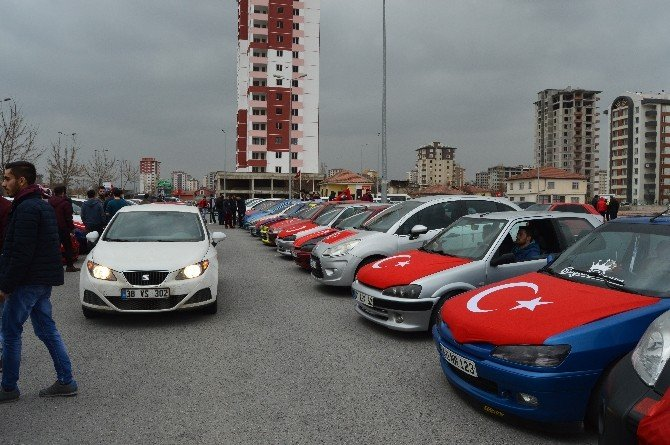 Peugeot Team'dan Teröre Tepki Konvoyu