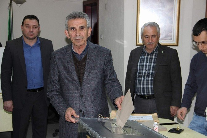 Manisa Ziraat Odası'nda Seçim