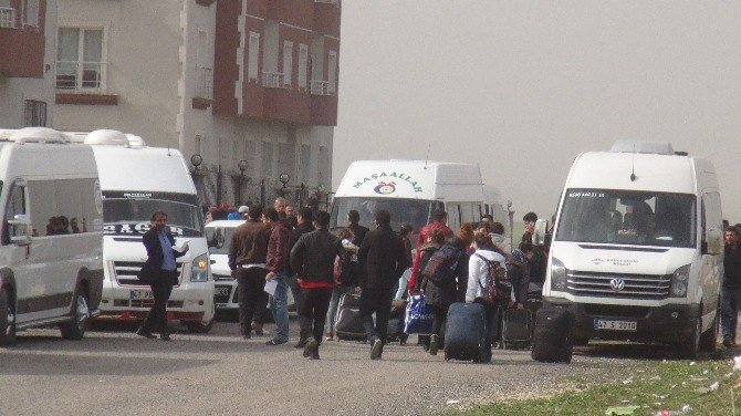 Nusaybin'de Öğrenciler Telafi Eğitimine Gönderildi