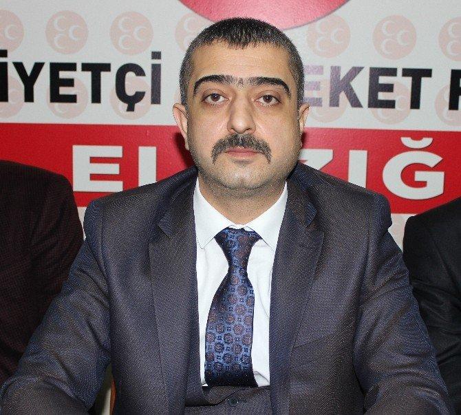 MHP Elazığ İl Teşkilatı Kapatılan 4 İl Teşkilatı Hakkında Açıklama Yaptı