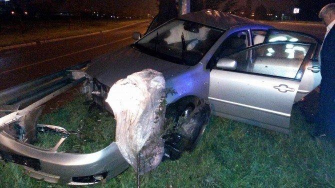 Orduspor Kulüp Başkanı Trafik Kazasında Yaralandı