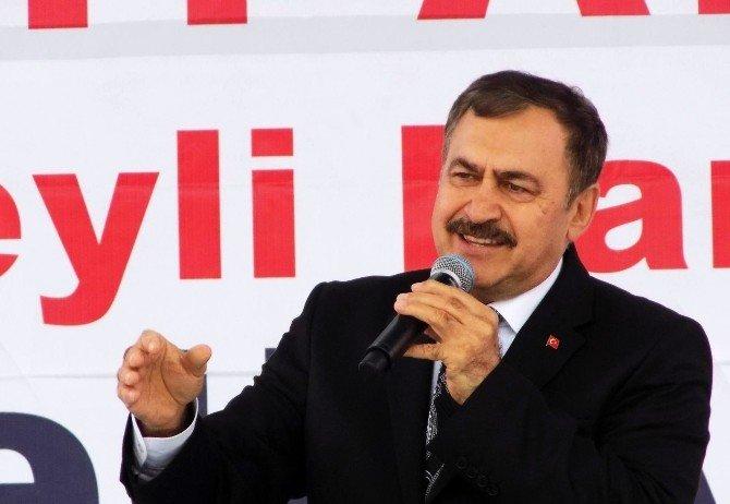 Orman Ve Su İşleri Bakanı Eroğlu, Beş Tesisin Temelini Attı