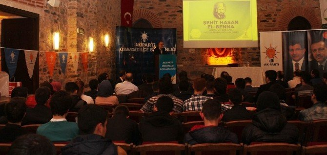 Osmangazi Gençlik'ten Hasan El Benna'yı Anma Ve Anlama Programı