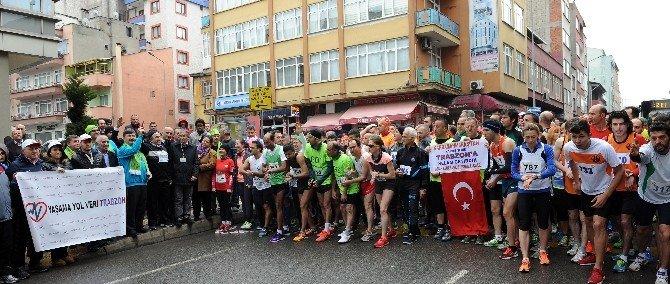 36. Trabzon Uluslararası Yarı Maratonu Koşuldu