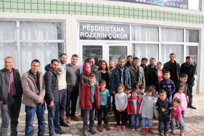 Başkale'de KURDİ-DER Tarafından Kreş Açıldı