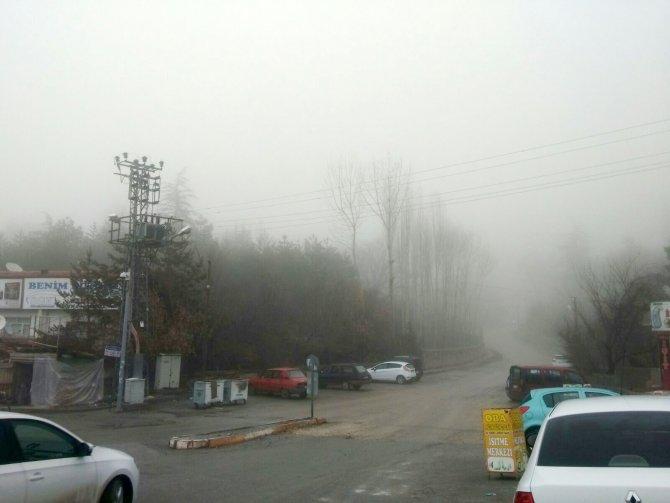 Yozgat'ta sisli hava etkisini sürdürüyor