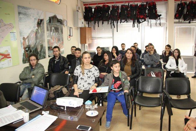 '8. Grup Gönüllü İtfaiyeci Kursu' başladı