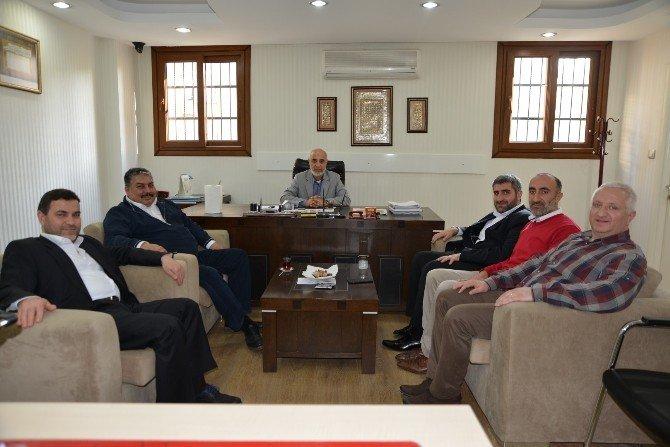 ASKON'dan SP İl Başkanı Gözütok'a Ziyaret