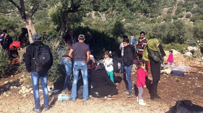 Antalya'da 122 Göçmen Yakalandı