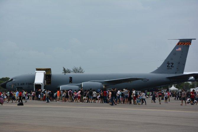 Singapur Havacılık Fuarı'nı 80 binden fazla kişi gezdi
