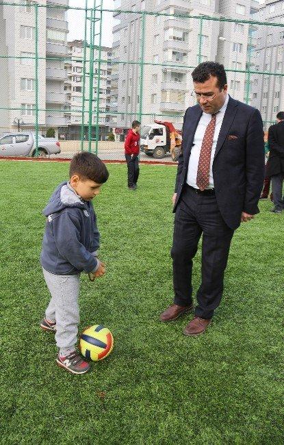 Atakum Belediyesi'nden 'Spor Ve Yaşam Alanı'