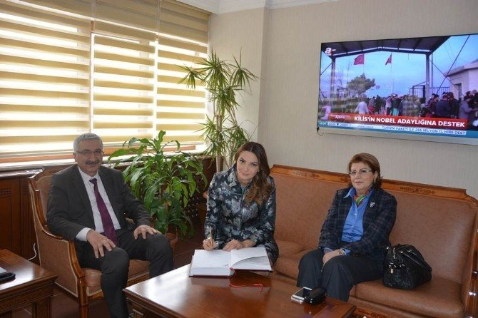 Azerbaycan Milletvekilinden Vali Kılıç'a Ziyaret