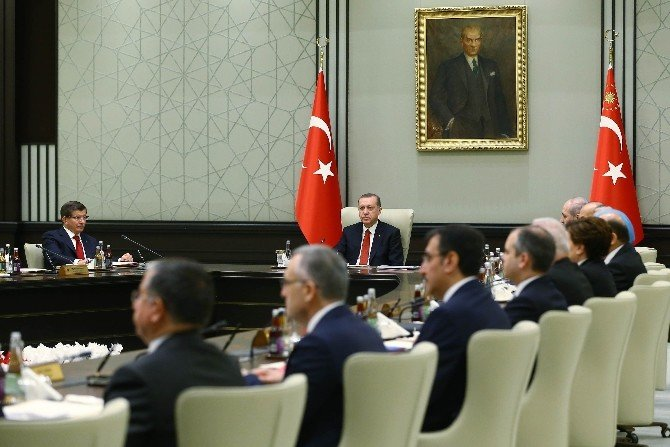 Bakanlar Kurulu Beştepe'de Toplandı