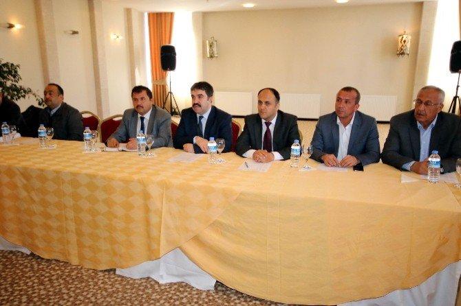 Beyşehir'de 1/25 Binlik Nazım İmar Planı Çalıştayı