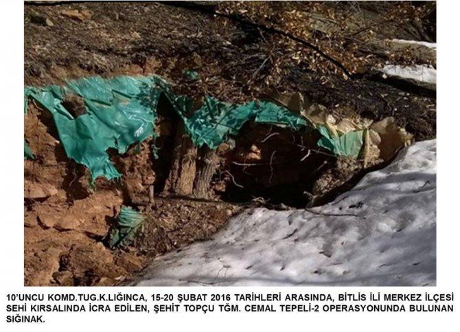 Bitlis'te PKK'ya ait çok sayıda mühimmat ele geçirildi