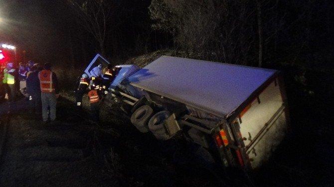 Bolu Dağı'dan Trafik Kazası 2 Yaralı