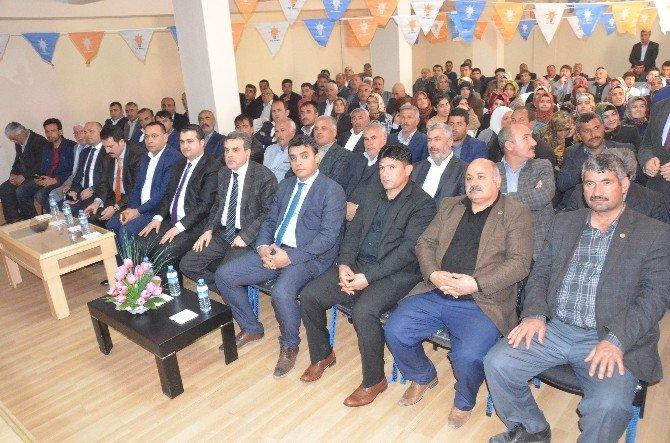 Bozova'da İlçe Danışma Meclisi Toplantısı Yapıldı