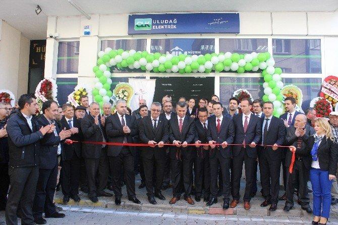 Clk Edremit Bölge Yönetmenliği Hizmete Açıldı