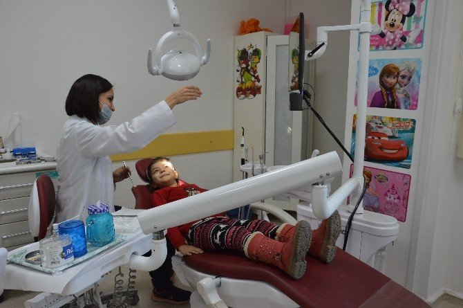 Çocuklar Artık Diş Muayenesine Giderken Korkmayacak