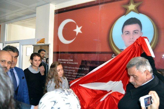 Şehit Mehmet Uyar'ın İsmi Salihli'de Yaşatılacak