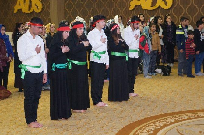 Erzurum'da canlar Hızır ceminde bir araya geldi