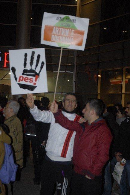 Eskişehir'de 'Cerattepe' Eylemi