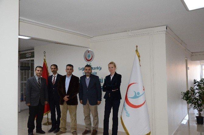 Sivil Toplum Kuruluşlarından Dr. Fidan'a Ziyaret