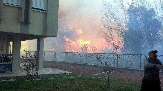 Antalya'da Yangın Paniği
