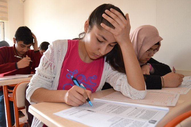 Eyyübiye Belediyesi Öğrencilere Deneme Sınavı Yaptı