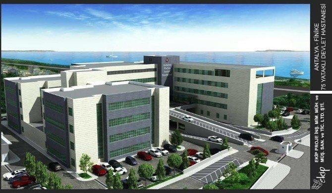 Finike Hastanesi İçin Geri Sayım Başladı