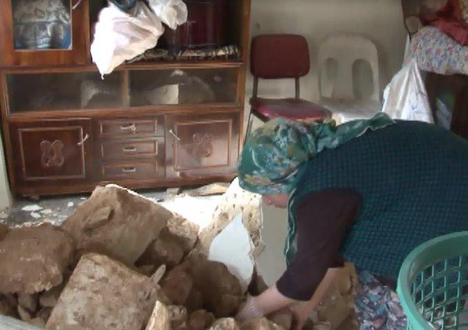 Kentsel dönüşüm alanında yanlış evin duvarını yıktılar