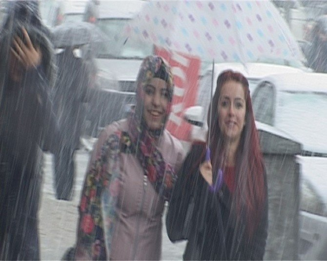 Hakkari'de Kar Yağışı