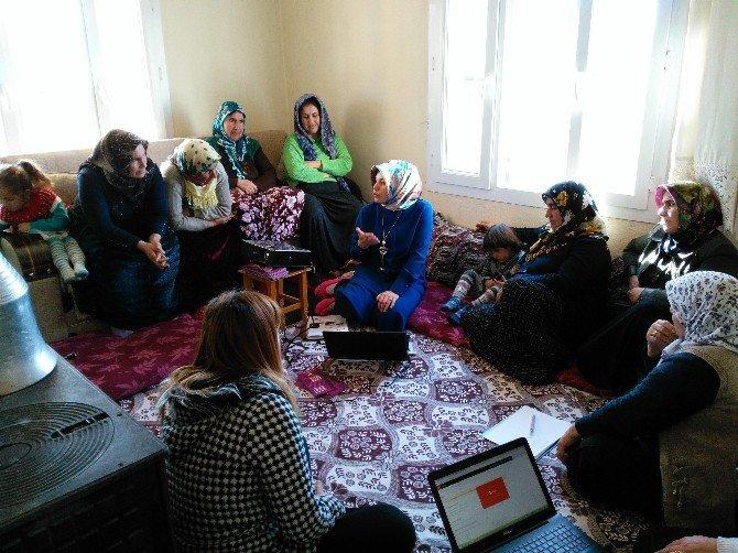 Halfeti'de Kadın Sağlığı Seminerleri Devam Ediyor