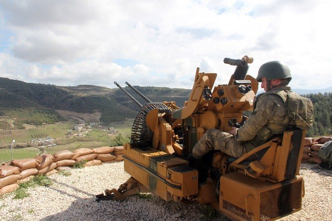 Suriye Sınırındaki Güvenlik Önlemleri Artırıldı